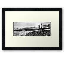 St. Anns Bay Beach - Cape Breton Framed Print