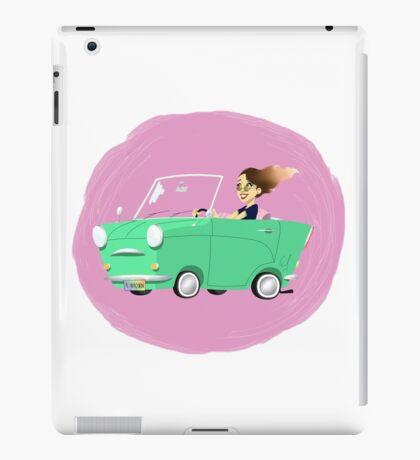 Driving Girl  iPad Case/Skin