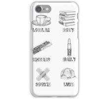 Gilmore Girls Characters iPhone Case/Skin
