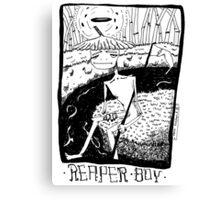 reaper boy Canvas Print