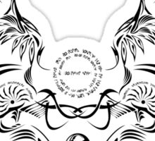 Noel Vermillion Emblem Sticker