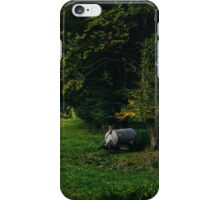 Water Tank In A Pasture iPhone Case/Skin
