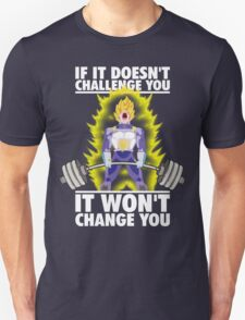 Challenge and Change (Vegeta Deadlift) T-Shirt