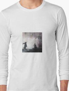 Grey Sky Bunnies Long Sleeve T-Shirt