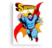 Superbear - Bearoes Canvas Print