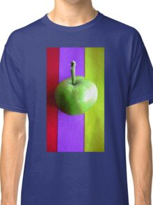 Stripes and Apple 2 Classic T-Shirt