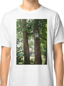 Bird House In A Tree Classic T-Shirt
