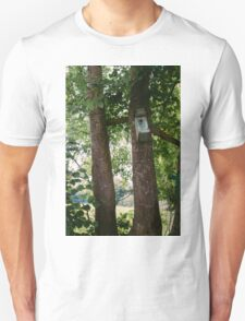 Bird House In A Tree Unisex T-Shirt