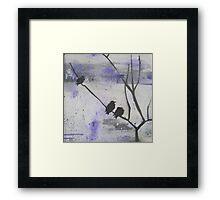 Small Birds Framed Print
