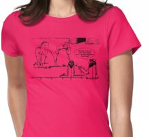 Zoo Humour - Cartoon 0011 Womens Fitted T-Shirt