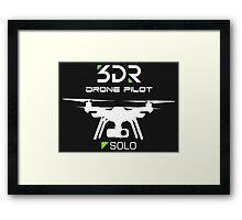 3DR SOLO DRONE PILOT Framed Print