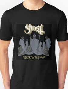GHOST BLACK TO THE FUTURE TOUR COVER T-Shirt