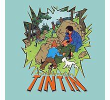 tintin adventures Photographic Print