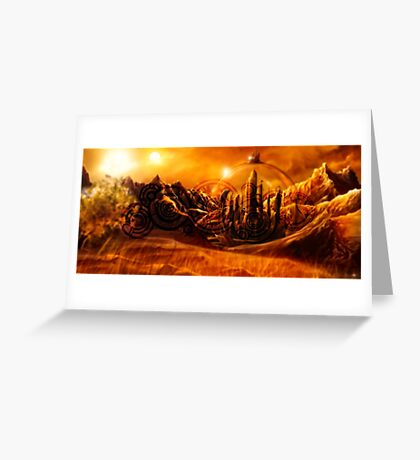 Doctor Who - Gallifrey & Doctor's Name Greeting Card