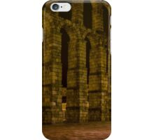 Early Morning at the Aqueduct of Segovia iPhone Case/Skin