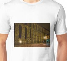 Early Morning at the Aqueduct of Segovia Unisex T-Shirt