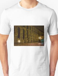 Early Morning at the Aqueduct of Segovia T-Shirt