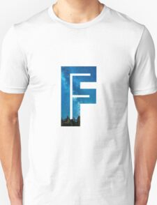 The Letter F - Starry Night T-Shirt