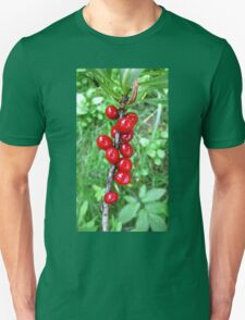 Daphne Red Berries . T-Shirt