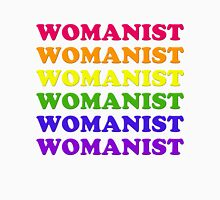 Womanism & Rainbows Womens Fitted T-Shirt