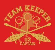 Gryffindor - Quidditch - Team Keeper by aurorpotter