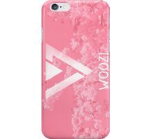 Seventeen Woozi - Pink Flowers iPhone Case/Skin