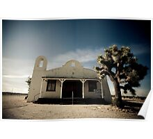 Mojave Desert Church Poster