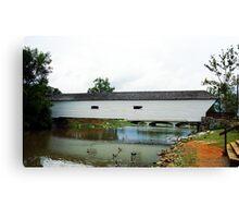 Elizabethton, TN, Covered Bridge, 2008 Canvas Print
