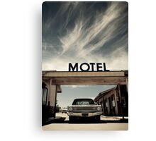 Mojave Desert Motel Canvas Print