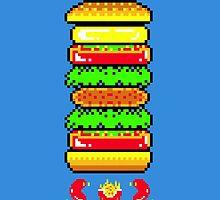 BurgerTime by slippytee