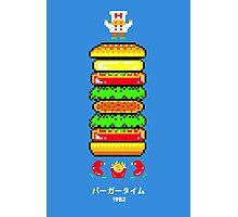 BurgerTime Photographic Print