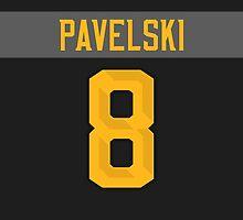 San Jose Sharks Joe Pavelski NHL All-Star Black Jersey Back Phone Case by Russ Jericho
