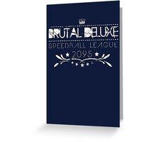 Speedball 2 Greeting Card