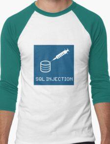 SQL Injection Men's Baseball ¾ T-Shirt