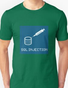 SQL Injection Unisex T-Shirt
