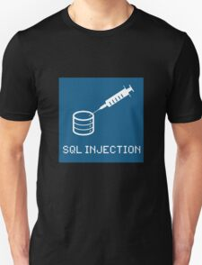 SQL Injection Unisex T-Shirt