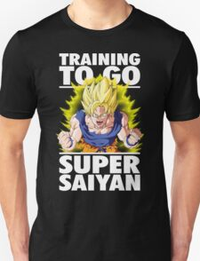 Training To Go Super Saiyan (Goku) T-Shirt