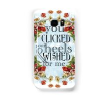 You Clicked Your Heels & Wished For Me - Panic! At the Disco Samsung Galaxy Case/Skin