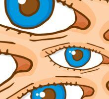 Big brother eye texture Sticker