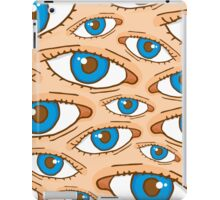 Big brother eye texture iPad Case/Skin
