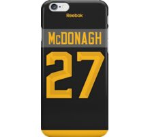 New York Rangers Ryan McDonagh NHL All-Star Black Jersey Back Phone Case iPhone Case/Skin