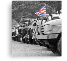 Land Rover. Canvas Print