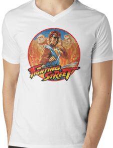 Fighting Street Mens V-Neck T-Shirt
