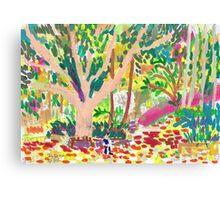 Fitzroy Gardens Canvas Print