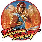 Fighting Street by slippytee
