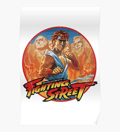 Fighting Street Poster