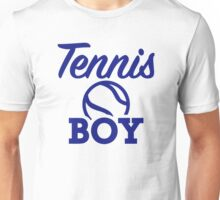 Tennis boy Unisex T-Shirt