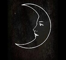 La Luna - Tarot in Black by TexasBarFight