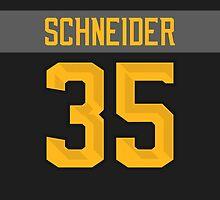 New Jersey Devils Cory Schneider NHL All-Star Black Jersey Back Phone Case by Russ Jericho