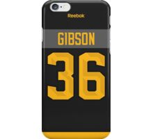 Anaheim Ducks John Gibson NHL All-Star Black Jersey Back Phone Case iPhone Case/Skin